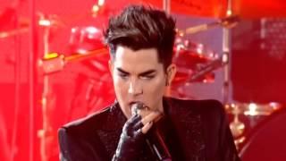 """getlinkyoutube.com-12. Queen & Adam Lambert """"Dragon Attack (Drum Battle)""""(Live in Kiev)"""