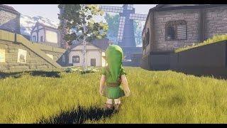getlinkyoutube.com-Ocarina of Time meets Unreal Engine 4 - Kakariko Village