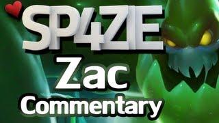 ♥ LoL Commentary - Zac