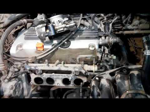 Как снять стартер, на Хонда CR-V