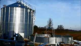 getlinkyoutube.com-Efficient grain silo installation by Inter-Silo team in 2014