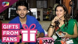 getlinkyoutube.com-Vikram Singh Chauhan and Shivani Surve receive gifs from fans