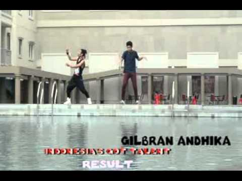 ICHALBLAO x cool dancer VS GILBRAN ANDHIKA indonesia's got talent 2014