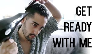 getlinkyoutube.com-Get Ready With Me ( Men's Grooming, fashion and hair tutorial ) ✖ James Welsh