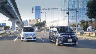 getlinkyoutube.com-特別動画 トヨタ ヴォクシー VS ホンダ ステップワゴン(車両概要編)