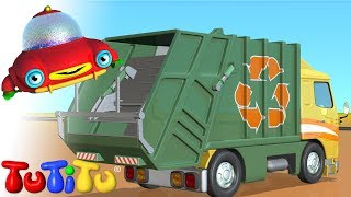 getlinkyoutube.com-TuTiTu Toys | Garbage Truck