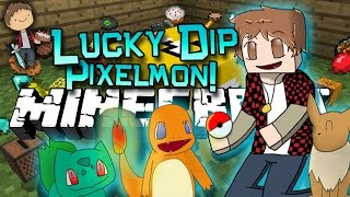 getlinkyoutube.com-Minecraft: Lucky Dip Pixelmon! Mini-Game Mod w/Mitch & Friends!