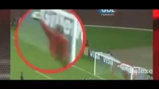 Penampakan Hantu di pertandingan sepak bola ( seram)