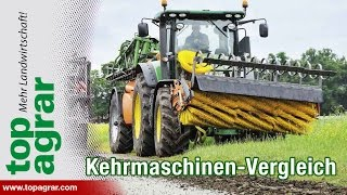 getlinkyoutube.com-Test: Drei Kehrmaschinen im Straßenkampf
