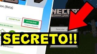 getlinkyoutube.com-NUEVO BIOMA SECRETO DE MINECRAFT PE 1.0 !! (MINECRAFT POCKET EDITION 1.0.2)