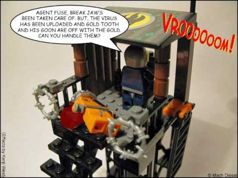 Fun With LEGO Agents 8632 Swamp Raid Photo Comic (Mature Audiences)