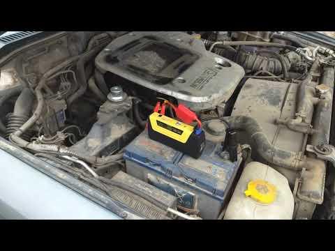 Jump Starter 50800mah Nissan Patrol 3.0Di. Заводим авто с севшим аккумулятором.