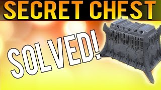 A Scent Is The Key - DREADNAUGHT SECRET CHEST SOLVED - The Taken King Puzzle Chest