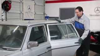 How To Loosen Bad Door Striker Bolts to Adjust Mercedes Doors