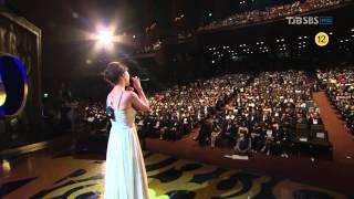 getlinkyoutube.com-백지영 - 그여자 / Secret Garden OST_현빈 하지원 @ Seoul Drama Awards 110831