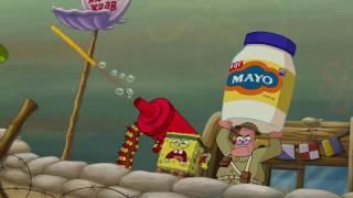 getlinkyoutube.com-SpongeBob Squarepants Food Fight (Sabaton: The  Lost Battalion)