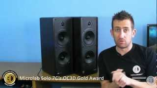 getlinkyoutube.com-Microlab Solo 7C 110w Active Stereo Speaker Set Review