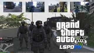 getlinkyoutube.com-GTA 5 - LSPDFR - EPiSODE 12 - LET'S BE COPS - LAPD SWAT(GTA 5 PC POLICE MODS)