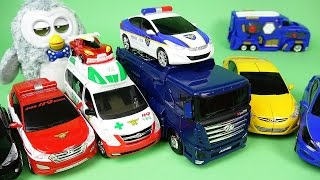 getlinkyoutube.com-CarBot 헬로카봇 터닝메카드 펭토킹 펜타스톰 파워레인저 다이노포스 장난감 CarBot transformers