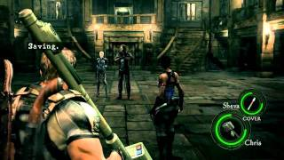 getlinkyoutube.com-Resident Evil 5 PC - Crazy L.T.D. Rapid Fire (Satellite Laser)