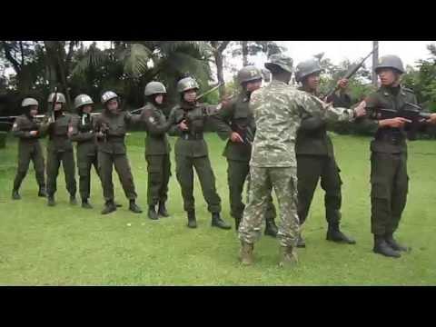 MENWA | Simulasi Taktik Regu Senapan
