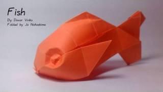 getlinkyoutube.com-Origami Fish (Davor Vinko)
