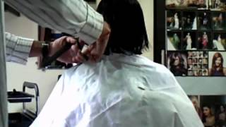 getlinkyoutube.com-U Blunt Haircut
