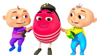 getlinkyoutube.com-Humpty Dumpty Sat On A Wall | Five Little Babies Collection | Zool Babies Fun Songs