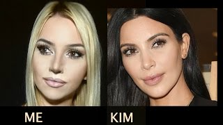 getlinkyoutube.com-Kim Kardashian Makeup Tutorial