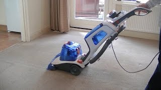 getlinkyoutube.com-Vax Dual V Advance Carpet Washer Demonstration & Review