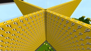 getlinkyoutube.com-Minecraft LUCKY BLOCK WALLS! #1 | (Minecraft Modded Minigame)