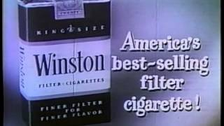 13 Classic Retro Winston Cigarettes Commercials starring The Flintstones