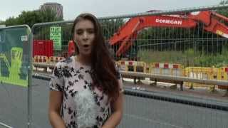 Mancunian Way Hole Update - Headline News