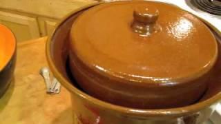 getlinkyoutube.com-How To Make Raw Organic Unpasteurized Sauerkraut www.KristensRaw.com
