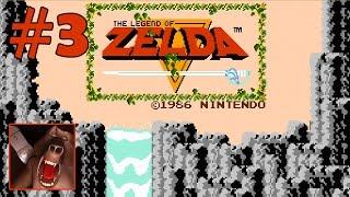 The Legend of Zelda (Nes) Part 3 - Level 4 Master Sword and Stepladder - 100% Walkthrough (Wii U)