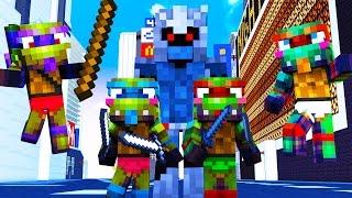 Minecraft - WHO'S YOUR DADDY? - BABY TEENAGE MUTANT NINJA TURTLES!