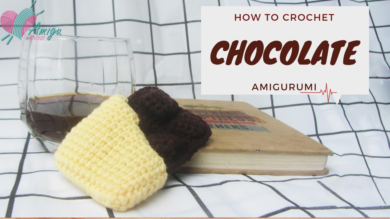 FREE Pattern – How to crochet CHOCOLATE amigurumi