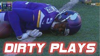 Dirtiest Cheap Shots in NFL Football History (DIRTY)