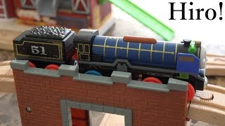 getlinkyoutube.com-Thomas & Friends Wooden Railway: Patchwork HIRO Unboxing & Playtime 2 of 2