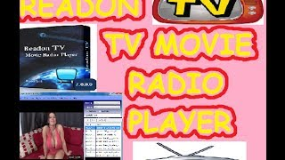 Como Ver Television Por Internet- Readon TV Movie Radio Player-Radio Por Intenet