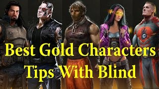 getlinkyoutube.com-WWE Immortals - Best Gold Characters Tips & Tricks