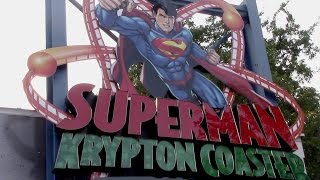 getlinkyoutube.com-Superman Krypton Coaster Review Six Flags Fiesta Texas