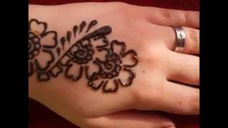 getlinkyoutube.com-[Step by Step] Simple Mehndi Design #2