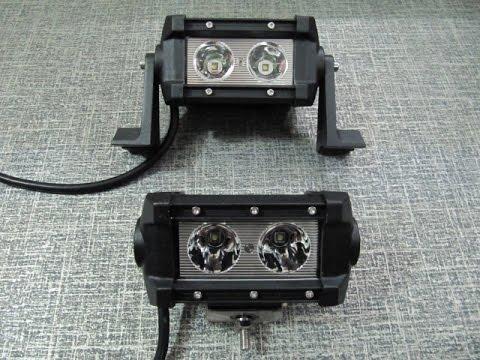 Дополнительные светодиодные фары LED 029-20W Spot