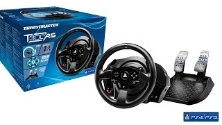 getlinkyoutube.com-Thrustmaster T300 RS Racing Wheel Unboxing and Review