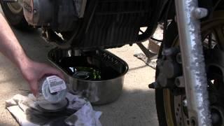 オイル交換 Motorcycle KAWASAKI Z1 メンテナンス基本編(maintenance