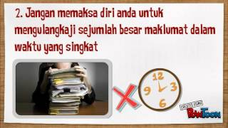 Tips Mengulangkaji Pelajaran