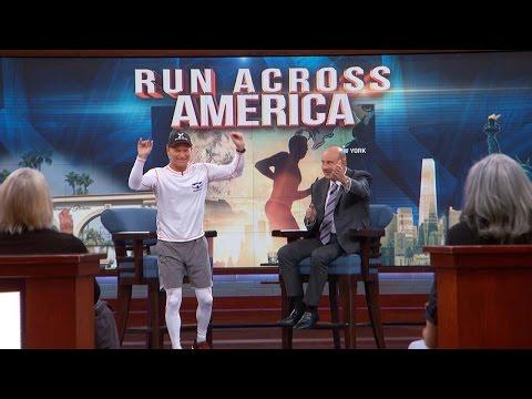 Why Darren Kavinoky Says He Is Running Across America