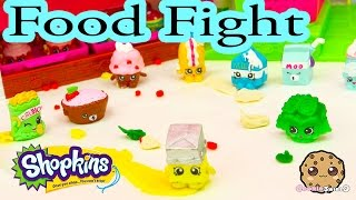 getlinkyoutube.com-Playdoh Food Fight with Shopkins Season 1 at Small Mart Bakery - Cookie Swirl C Play Video