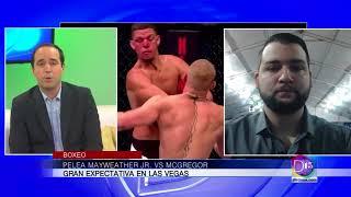 Hablamos con Andy Lichtveld sobre la pelea entre Mayweather Jr. y McGregor